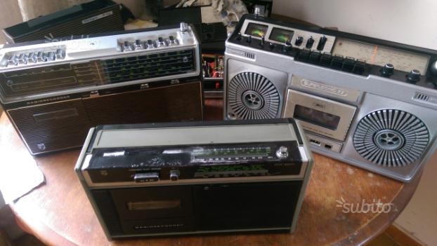 Tris radioregistratore