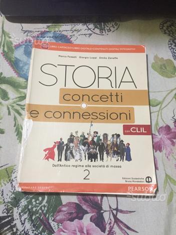 Libro scolastico storia concetti e connessioni 2