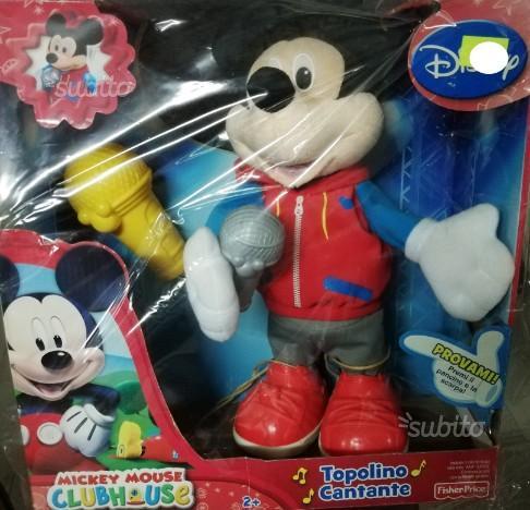 Topolino Cantante Disney Mickey Mouse