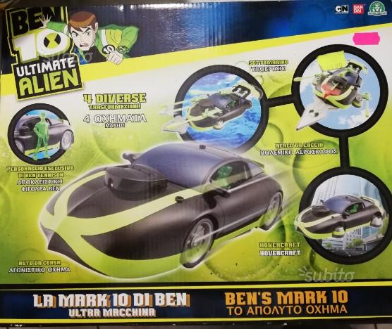 Ben's mark 10, macchina ben10 trasformabile