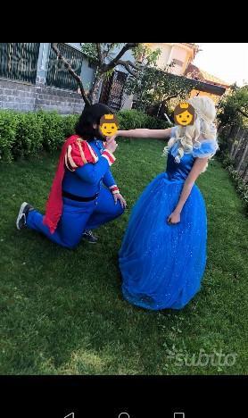 Vestito Principe azzurro o Cenerentola