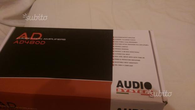 Amplificatore audio system classe D