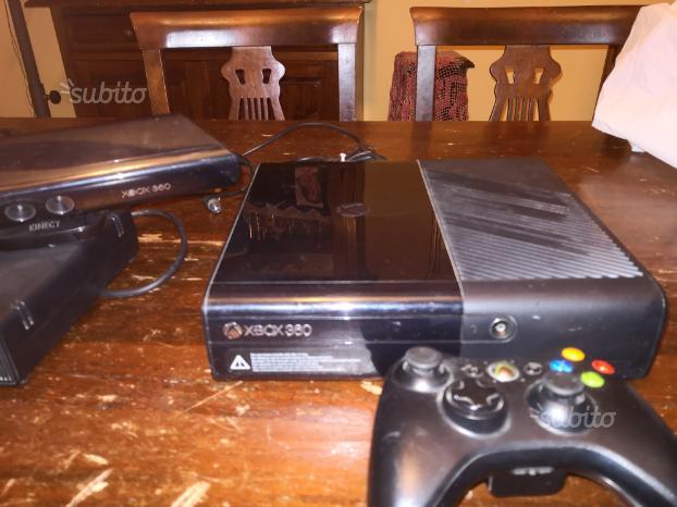 Xbox 360 con Pad e 10 giochi