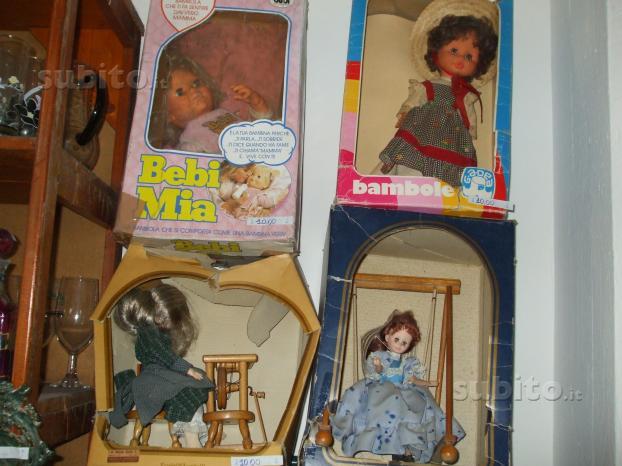 Bambole anni 60/70