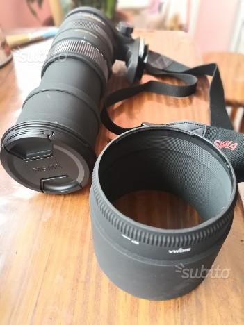 Obiettivo Sigma DG 150-500mm f5-6.3 APO HSM Sony