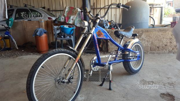 Bicicletta chopper bici