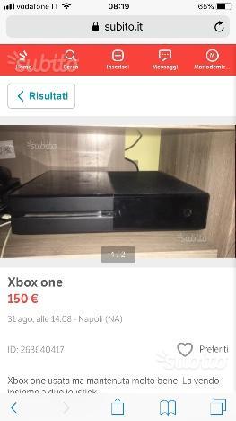 Xbox one più due joystick