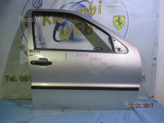 Sportello anteriore dx volkswagen polo 2001 grigio