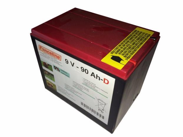 Batteria per recinti Elettrici 9 Volt 10.000 ore
