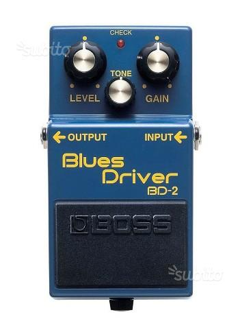 Boss BD-2 Pedale Bluse Driver