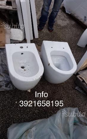 Igienici da bagno scontissimo vari nuovi stock