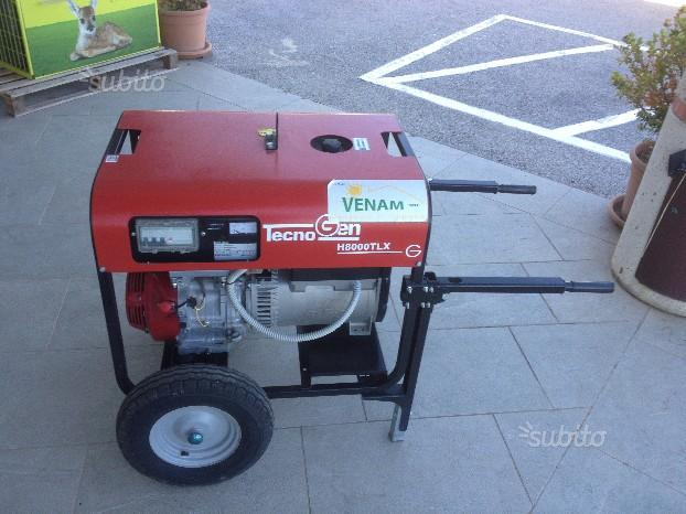 Generatore gruppo 220-380 Tecnogen H8000