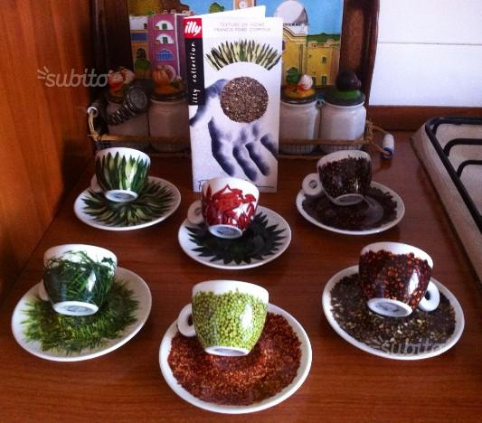 """Tazzine caffé Illy Collection """"Texture of home"""""""
