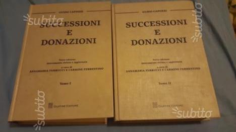 Successioni e donazioni Capozzi