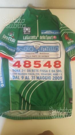 Maglia Ciclismo 100 anni Giro d'Italia Santini