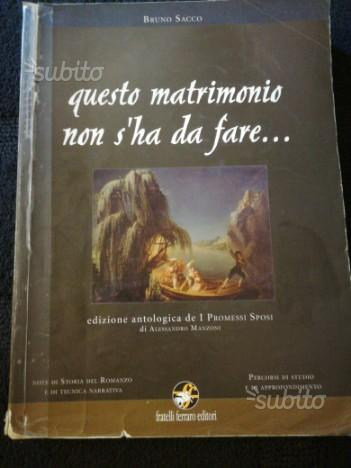 """Edizione antologica de """"I promessi sposi"""""""