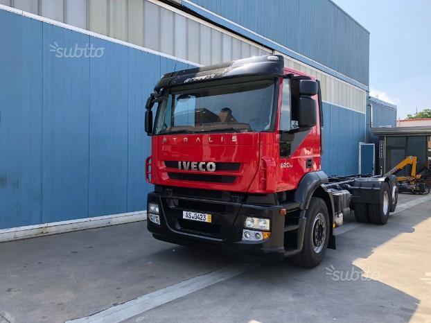 IVECO Stralis 420 Cv cabina corta