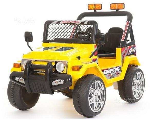 Auto elettrica per bambini modello Jeep Safari 12V