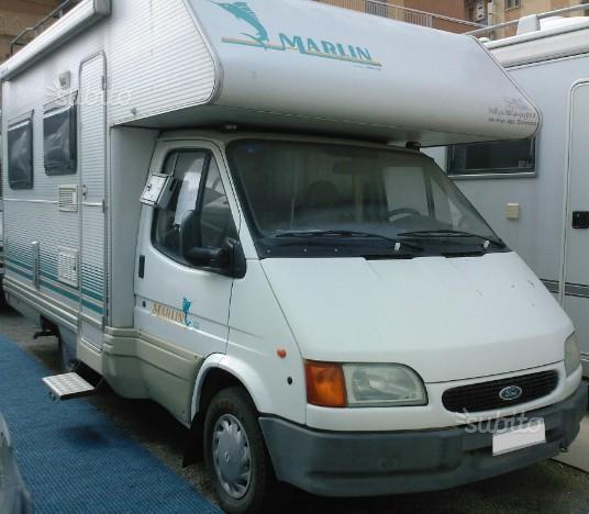 Camper usato elnagh marlin 56 mansardato