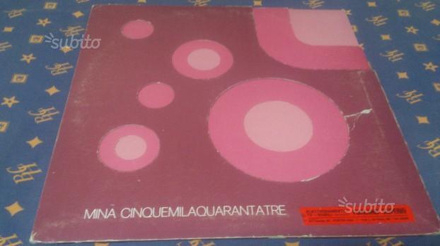"""LP 33 giri """"MINA - Cinquemilaquarantatrè"""" (1972)"""