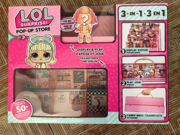 Lol surprise pop up store