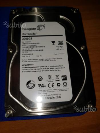 Hard disk Seagate Barracuda 3TB ST3000DM001