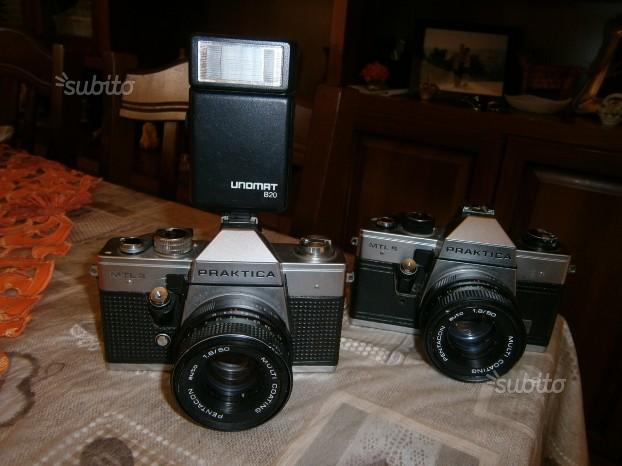 Macchine fotografiche anni 70
