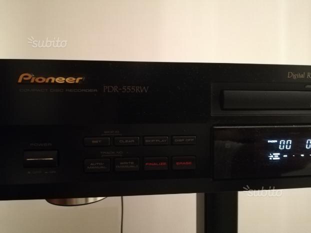 Lettore CD/masterizzatore Pioneer mod. PDR-555RW