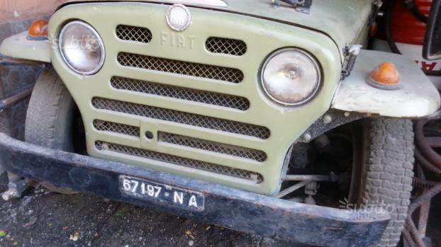 Fiat Campagnola 1952 originale