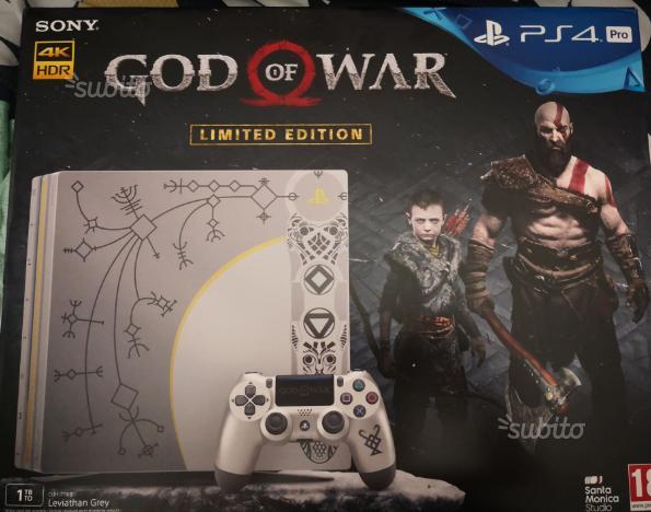 Ps4 pro limited god of war più 2°joypad