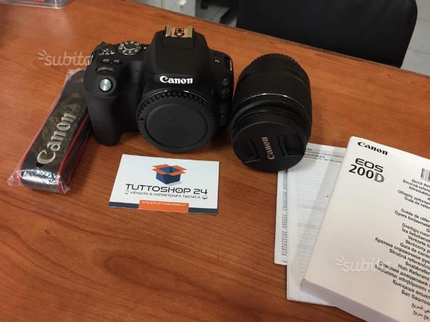 Fotocamera digitale Eos 200D