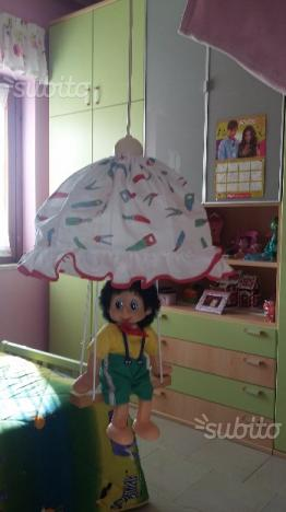 Lampadario Pinocchio Vintage