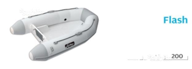 TENDER ARIMAR FLASH 200 chiglia vetroresina