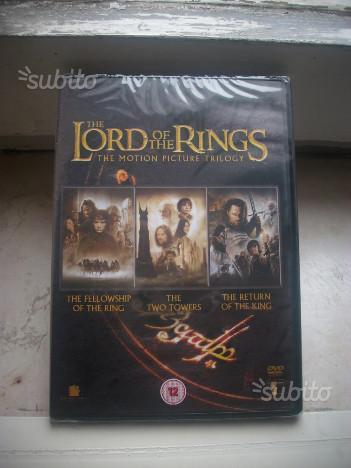 Dvd Trilogia Il Signore degli Anelli Nuovo Inglese