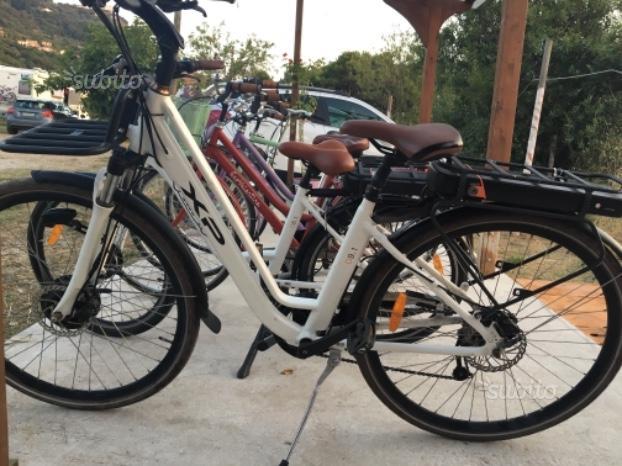 Biciclette con pedalata assistita semi nuove