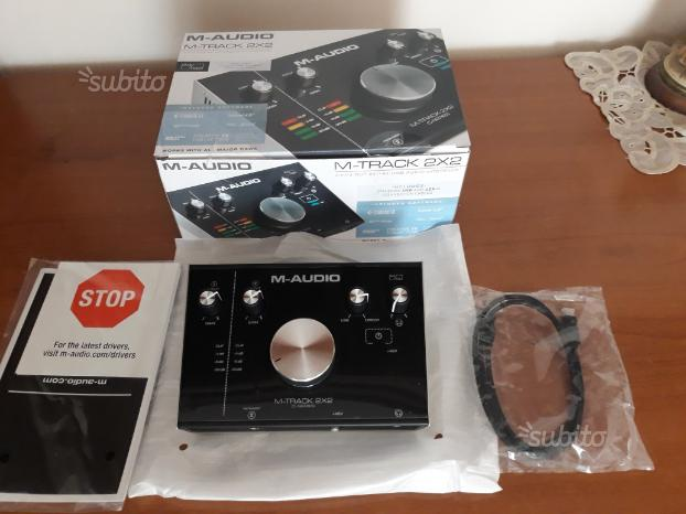 M audio track 2x2 nuova imballata