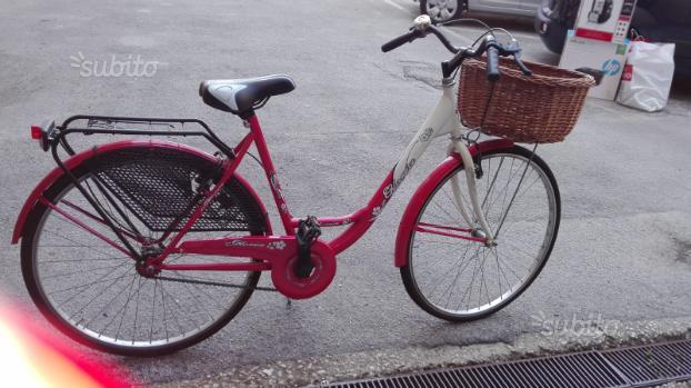 Bicicletta donna Graziella da passeggio
