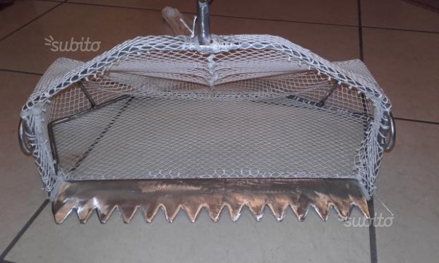 Rastrello x telline (acciaio inox)