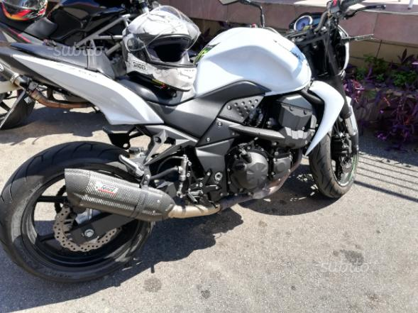 Kawasaki z750 2013 depotenziata a libretto