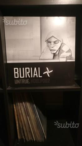 Burial Untrue LP Doppio