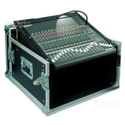 FLIGHT CASE PROEL 6U - Professionale con Ruote