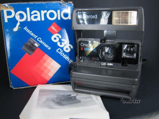 Polaroid istantanea modello 636 Closeup