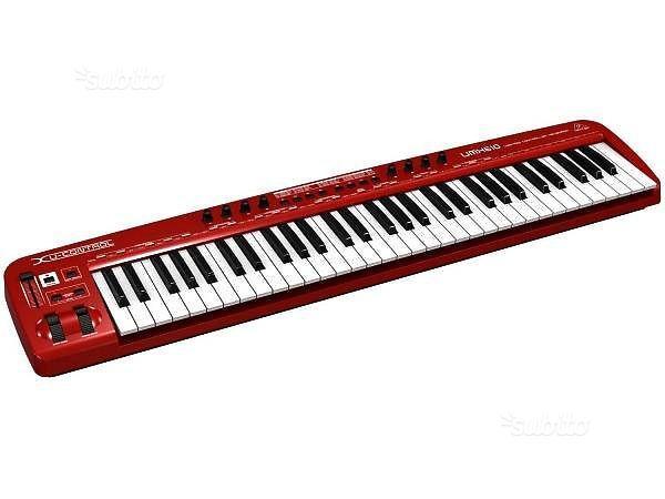 Behringer umx610 tastiera master keyboard 61 tasti