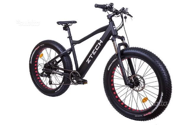 Bici Elettrica Vesuvio 87 Z-Tech