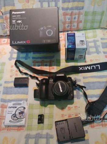 Panasonic Gh4 + Obiettivo Olympus M.Zuiko 12mm