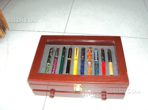 Collezione di penne stilo con cofanetto