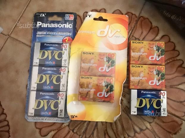 Cassette videocamere MiniDV / DV ed EC