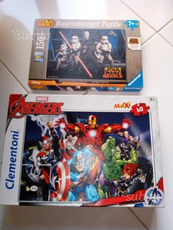 Puzzle avengers e star wars