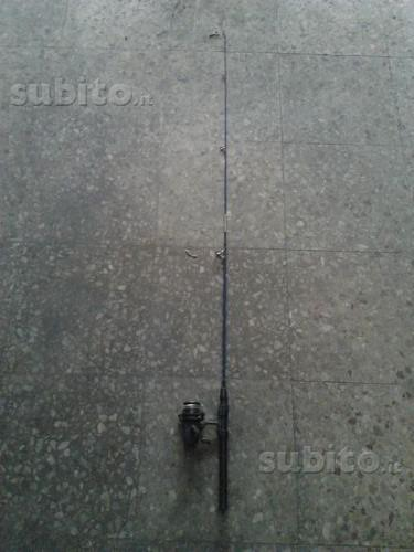 Canne da pesca varie