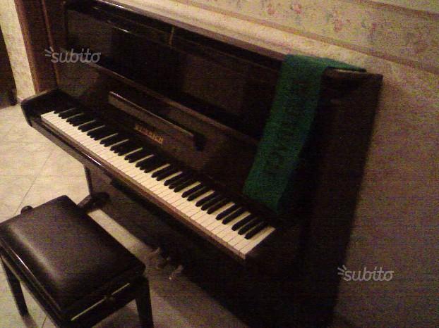 "Pianoforte acustico verticale originale ""WEINBACH"""